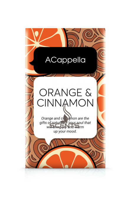 Саше для автомобиля Acappella Апельсин в Корице ORANGE CINNAMON